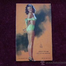 Postales: POSTAL ERÓTICA- PIN-UP. A MUTOSCOPE CARD. AÑOS 40. USA.. Lote 35655921