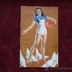 Postales: POSTAL ERÓTICA- PIN-UP. A MUTOSCOPE CARD. AÑOS 40. USA.. Lote 35655984