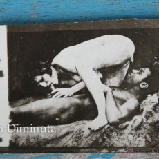 Cartes Postales: ANTIGUA CURIOSA Y DIFICIL DE ENCONTRAR FOTOGRAFIA PORNO EROTICA - AÑOS 20 - ORIGINAL - 7 X 4,5 CM -. Lote 45054035