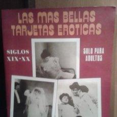 Postales: LIBRO DE POSTALES EROTICAS DE LOS AÑOS 20 ,. Lote 45293419