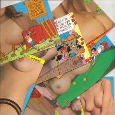 Cartes Postales: 8 POSTALES DE DESNUDOS CON CHISTE. Lote 54435454
