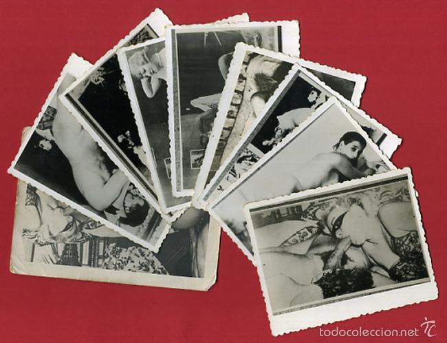LOTE DE 9 FOTOGRAFIAS PORNO , PORNOGRAFIA , ANTIGUAS , ORIGINALES , LB (Coleccionismo para Adultos - Postales Temáticas - Eróticas y Pin Ups)