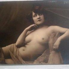 Postales: FOTO POSTAL EROTICA ORIGINAL, ART DECO ,DESNUDO, MUJER, J.MANDEL PARÍS AN 236. Lote 57572940