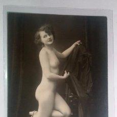 Postais: FOTO POSTAL EROTICA ORIGINAL, ART DECO ,DESNUDO, MUJER, J.MANDEL PARÍS 1032. Lote 196043981