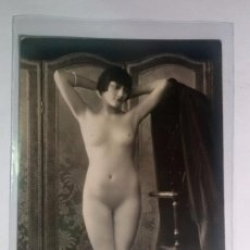 Postales: FOTO POSTAL EROTICA ORIGINAL, ART DECO ,DESNUDO, MUJER, J.MANDEL PARÍS 1014. Lote 57572979