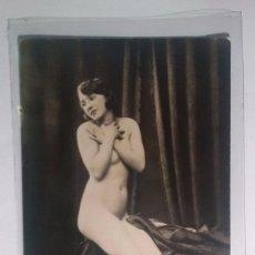 Postales: FOTO POSTAL EROTICA ORIGINAL, ART DECO ,DESNUDO, MUJER, J.MANDEL PARÍS 1080. Lote 57573067
