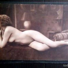 Postales: FOTO POSTAL EROTICA ORIGINAL, ART DECO ,DESNUDO, MUJER, J.MANDEL PARÍS PC 3351. Lote 57573171