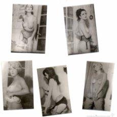 Postales: CINCO FOTOGRAFIAS EROTICAS DE DIFERENTES MUJERES, ARCHIVO FOTOGRAFICO, COLECCION PRIVADA, AÑOS 60. . Lote 58188164