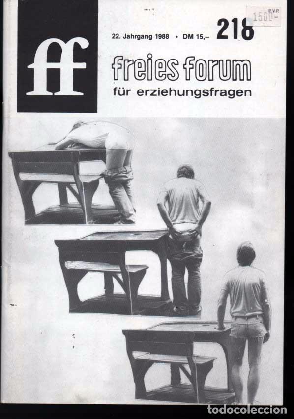 ff freies forum für erziehungsfragen 218. 1988 - Comprar