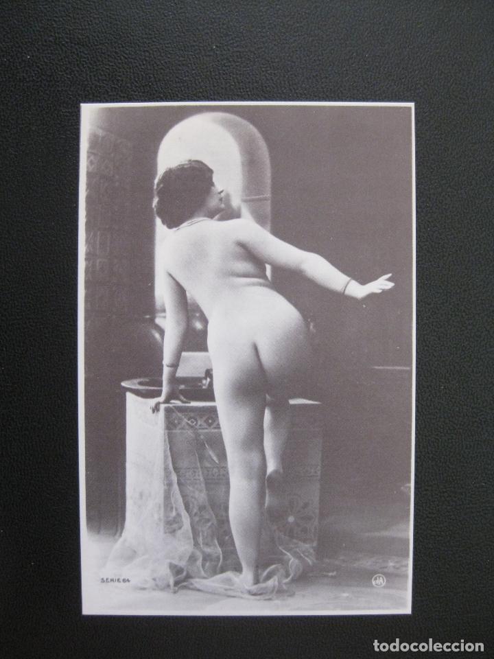 Postal Mujer Desnuda Años 80