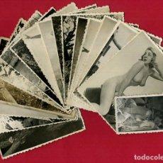 Postales: LOTE DE 17 FOTOS FOTOGRAFIAS EROTICAS , MUJERES , ANTIGUAS , ORIGINALES, B. Lote 105201355