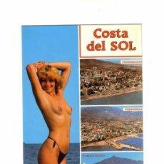 Postales: -56185 POSTAL DESNUDO FEMENINO, EROTICO, TORREMOLINOS, FUENGIROLA, PUERTO BANUS, MALAGA, MUJER. Lote 120611395
