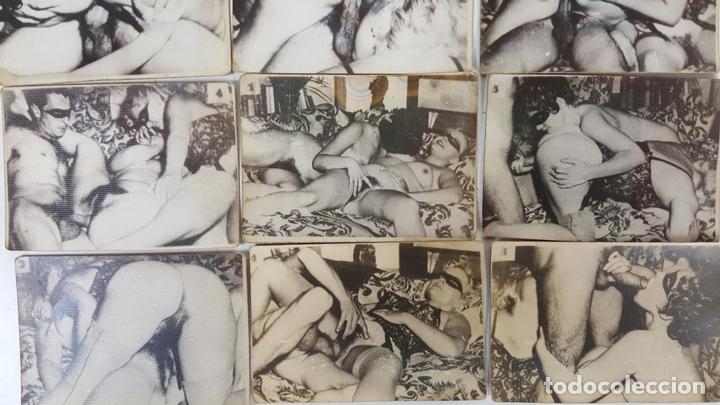 Postales: COLECCIÓN DE 15 FOTOGRAFÍAS ERÓTICAS. EUROPA. AÑOS 50/60 - Foto 2 - 124694355