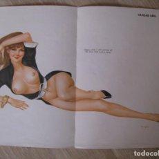 Postales: POSTER DE PIN UP. VARGAS GIRL. ANOS 70. 38X28 CM. DOBLADA.. Lote 133467946