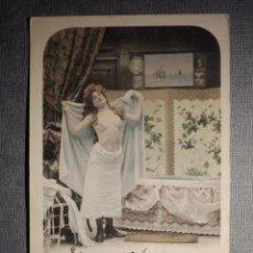 Cartes Postales: ANTIGUA POSTAL ERÓTICA - EDICIÓN FRANCESA - ESCRITA EN 1903. Lote 150502474