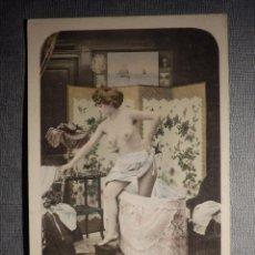 Postales: ANTIGUA POSTAL ERÓTICA - EDICIÓN FRANCESA - ESCRITA EN 1903 . Lote 150502486