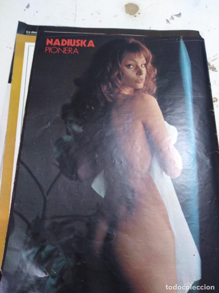 LOTE DE RECORTES Y ARTÍCULOS DE CINE EROTICO (Coleccionismo para Adultos - Postales Temáticas - Eróticas y Pin Ups)