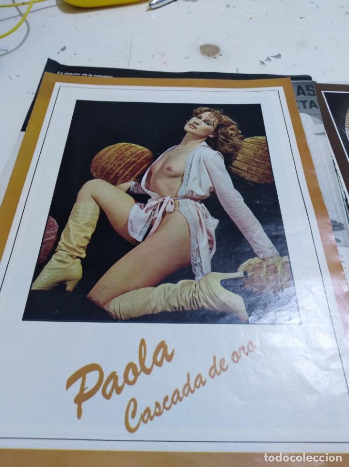 Postales: Lote de recortes y artículos de cine erotico - Foto 4 - 165375034
