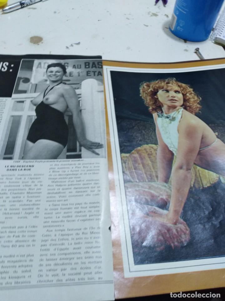 Postales: Lote de recortes y artículos de cine erotico - Foto 5 - 165375034