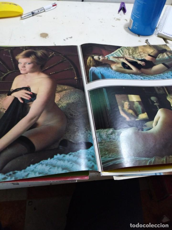 Postales: Lote de recortes y artículos de cine erotico - Foto 11 - 165375034