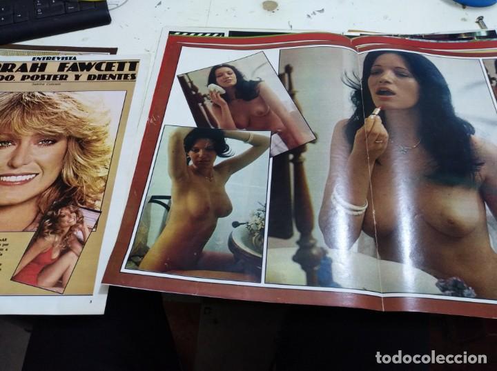 Postales: Lote de recortes y artículos de cine erotico - Foto 14 - 165375034