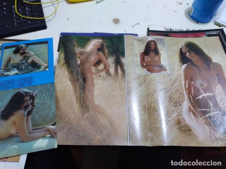 Postales: Lote de recortes y artículos de cine erotico - Foto 16 - 165375034