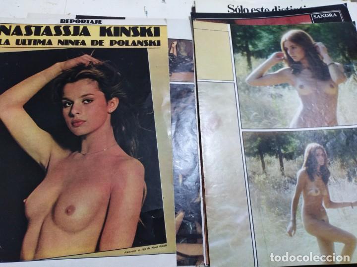 Postales: Lote de recortes y artículos de cine erotico - Foto 17 - 165375034