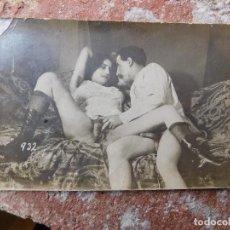 Postales: POSTAL FOTOGRÁFICA TEMA PORNO PORNOGRAFIA PRINCIPIOS DEL SIGLO XX ORIGINAL. Lote 165746298