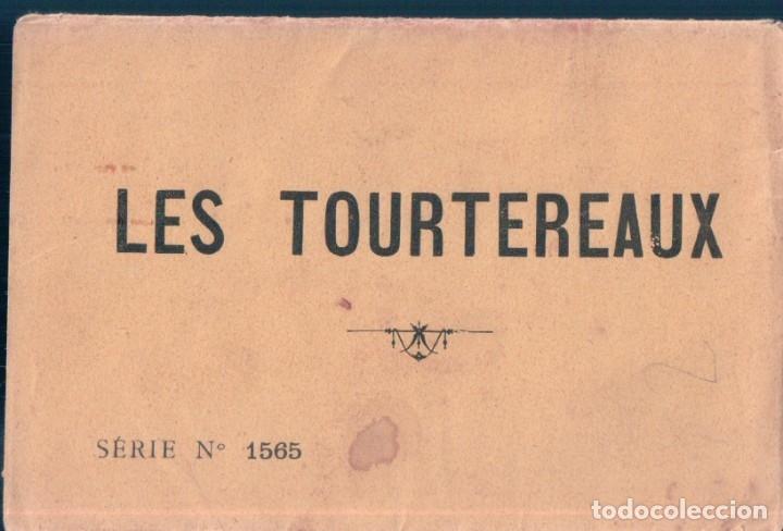 Postales: SERIE DE 6 POSTALES - LES DEUX TOURTEREAUX - SERIE 1565 - EN PERFECTO ESTADO Y CON SU FUNDA DE PAPEL - Foto 8 - 173094384