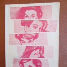 Postales: LIBRITO CALENDARIO 1968 , HOT-PLAY-CALENDAR 68 , CALENDARIO ALEMAN , MUJERES EROTICAS. Lote 178247542