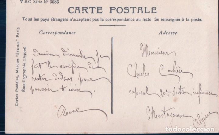 Postales: POSTAL EROTICA DE MUJER - CIRCULADA - V B C SERIE 3085 - CIRCULADA - Foto 2 - 180199511