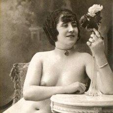 Postales: 3 -TARJETAS POSTALES-DESNUDO MUJER-AÑOS 20- - REPROD.. Lote 190824190