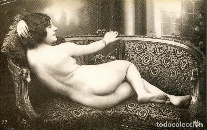 Postales: 3 -TARJETAS POSTALES-DESNUDO MUJER-AÑOS 20- - REPROD. - Foto 2 - 190824190