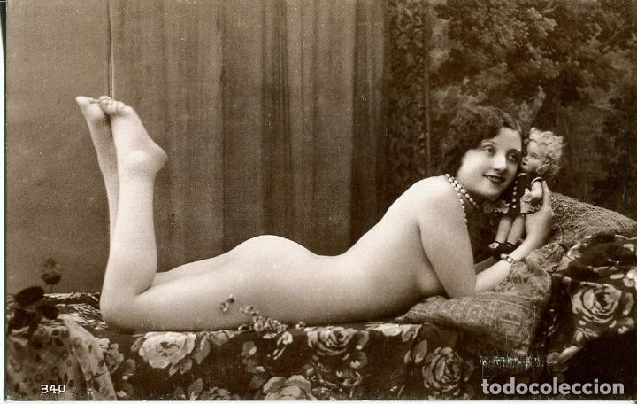 Postales: 3 -TARJETAS POSTALES-DESNUDO MUJER-AÑOS 20- - REPROD. - Foto 2 - 190824300