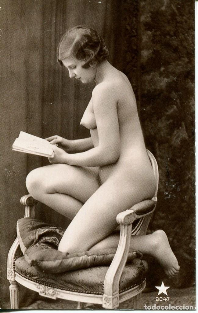 Postales: 3 -TARJETAS POSTALES-DESNUDO MUJER-AÑOS 20- - REPROD. - Foto 3 - 190824382