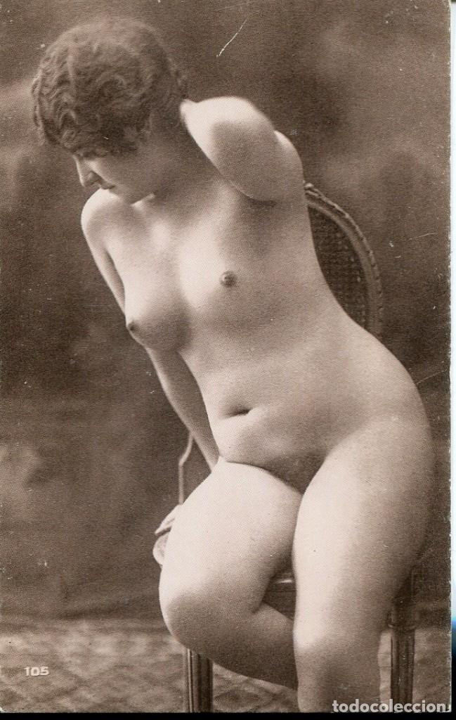 Postales: 3 -TARJETAS POSTALES-DESNUDO MUJER-AÑOS 20- - REPROD. - Foto 3 - 190824612