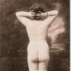 Postales: 3 -TARJETAS POSTALES-DESNUDO MUJER-AÑOS 20- - REPROD.. Lote 190824736