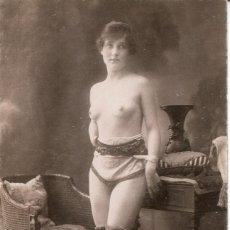 Postales: 3 -TARJETAS POSTALES-DESNUDO MUJER-AÑOS 20- - REPROD.. Lote 190824776