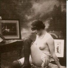 Postales: 3 -TARJETAS POSTALES-DESNUDO MUJER-AÑOS 20- - REPROD.. Lote 190922751