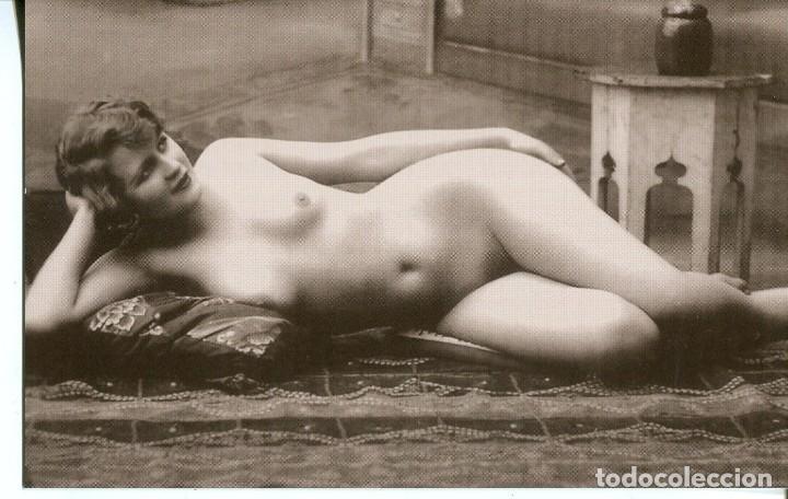 Postales: 3 -TARJETAS POSTALES-DESNUDO MUJER-AÑOS 20- - REPROD. - Foto 2 - 190922751