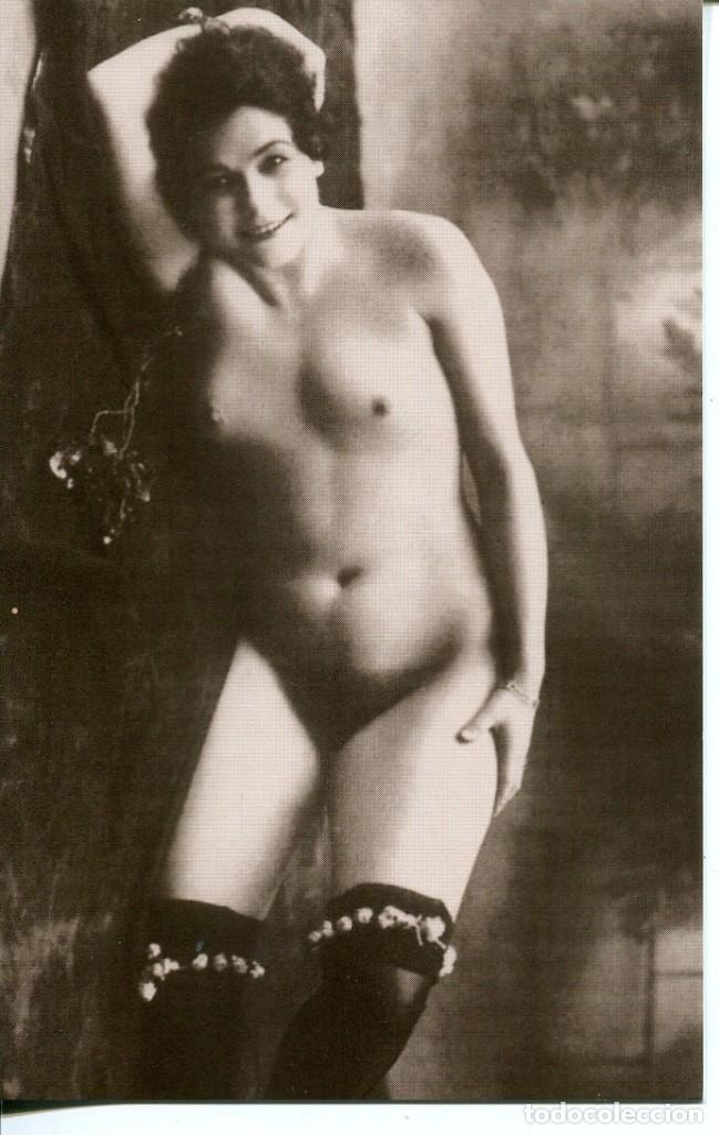 Postales: 3 -TARJETAS POSTALES-DESNUDO MUJER-AÑOS 20- - REPROD. - Foto 3 - 190922751