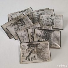 Postales: CROMO-FOTOS ERÓTICOS ROBÍN DE LOS BOSQUES - 5 EPISODIOS - 50 CROMOS (FALTA 1). Lote 194285732