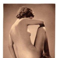 Postales: FOTOGRAFÍA.- DESNUDO DE MUJER - FOTO ERÓTICA. 17X23,5.APROX.. Lote 195741636