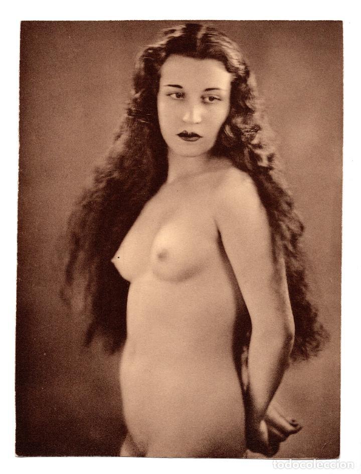 FOTOGRAFÍA.- DESNUDO DE MUJER - FOTO ERÓTICA. 17X23,5.APROX. (Coleccionismo para Adultos - Postales Temáticas - Eróticas y Pin Ups)