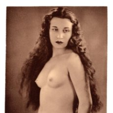 Postales: FOTOGRAFÍA.- DESNUDO DE MUJER - FOTO ERÓTICA. 17X23,5.APROX.. Lote 195743733