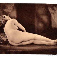 Postales: FOTOGRAFÍA.- DESNUDO DE MUJER - FOTO ERÓTICA. 17X23,5.APROX.. Lote 195746587