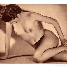 Postales: FOTOGRAFÍA.- DESNUDO DE MUJER - FOTO ERÓTICA. 17X23,5.APROX.. Lote 195746767