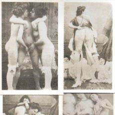 Postales: 4 POSTALES ERÓTICO/ PORNO. 1988. E. ANTALBE.. Lote 195896263