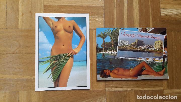 Postales: LOTE 16 POSTALES CHICAS ERÓTICAS. VER FOTOS, SE MUESTRAN TODAS - Foto 5 - 196508195
