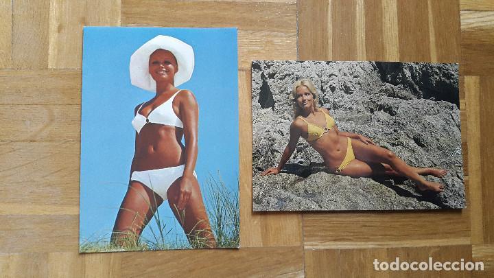 Postales: LOTE 16 POSTALES CHICAS ERÓTICAS. VER FOTOS, SE MUESTRAN TODAS - Foto 11 - 196508195